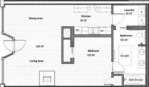 Julia Dean apartment floor plan