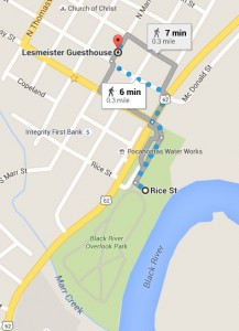 map to Fish Black River
